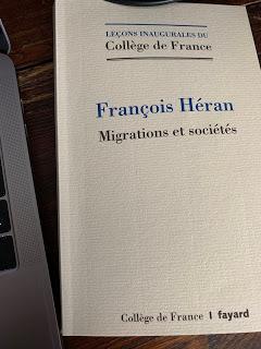Les migrations au Collège de France