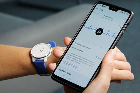 IFA : Withings dévoile sa montre connectée ECG Move !