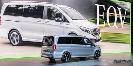 Francfort 2019: Mercedes EQV