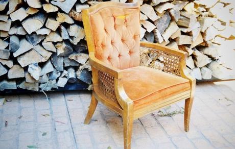 DIY chaise marron bois - blog déco - clem around the corner