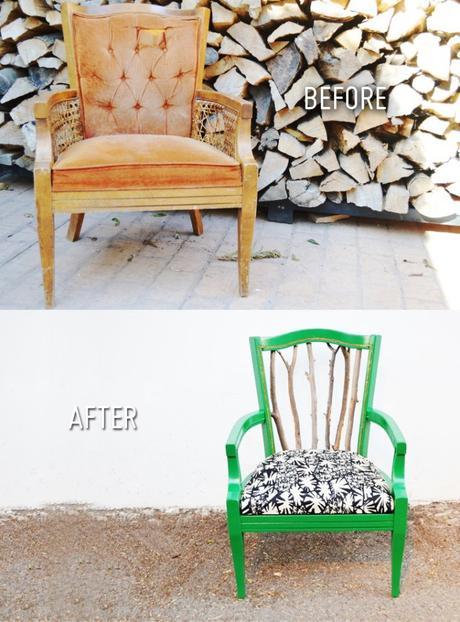 DIY chaise ranch bois - blog déco - clem around the corner