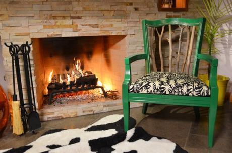 DIY chaise style ranch bois feu - blog déco - clem around the corner