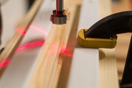 DIY chaise bois bricolage maison laser - blog déco - clem around the corner