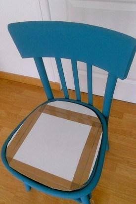DIY chaise bois bricolage assise - blog déco - clem around the corner