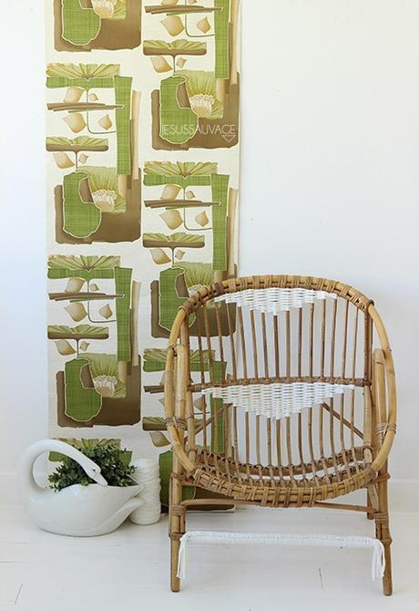 DIY chaise rotin tissage blanc - blog déco - clem around the corner