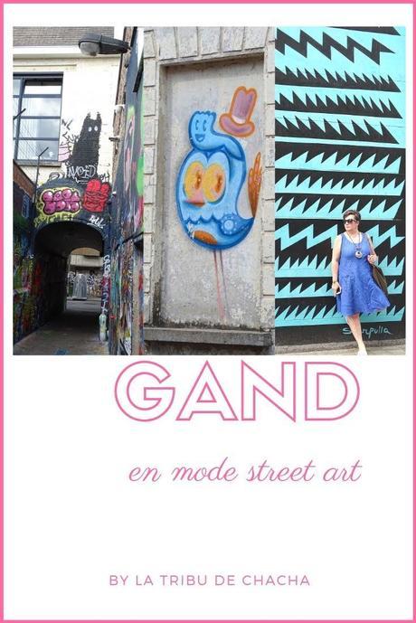 Découvrir Gand et son street-art lors du Gentse Feesten