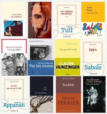 Les 27 romans sélectionnés pour le prix Femina
