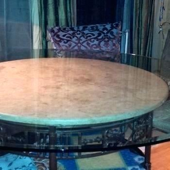 60 round glass table top 38 x 60 glass table top