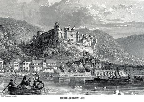 Voyage en Allemagne – Heidelberg, 1