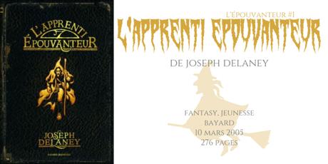 L'apprenti Épouvanteur (L'Épouvanteur #1) • Joseph Delaney
