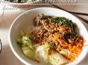 Salade nouilles thaïlandaise boeuf