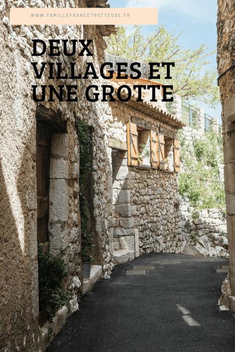 Deux villages varois et une grotte Obscure