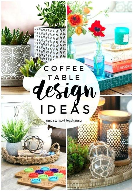 coffee table arrangements decor coffee table decor