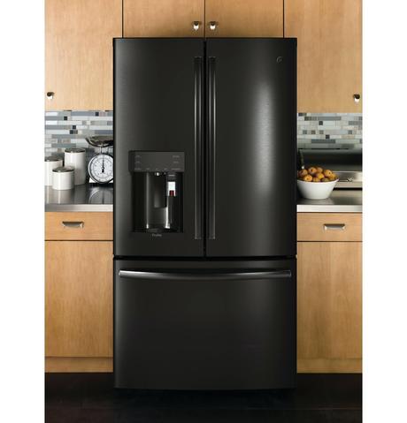 ge profile counter depth refrigerator ge profile 252 cu ft side by side counter depth refrigerator