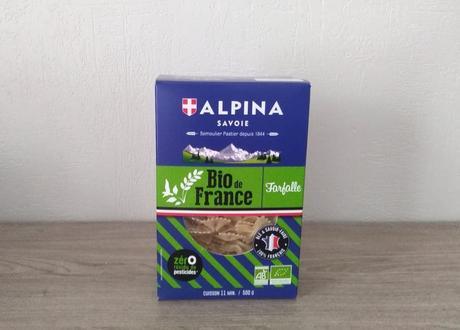 Pâtes bio de France (ALPINA SAVOIE)