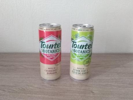 Lot de deux boissons (TOURTEL BOTANICS)