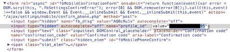 Piratage d'un compte Facebook avec juste un SMS