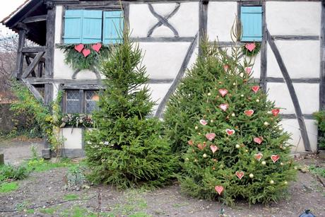 Sapin de Noël à l'Écomusée d'Alsace © French Moments
