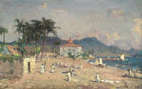 La plage et les autres peintres A et B -2/2