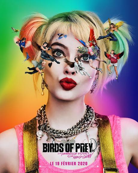 Premières affiches VF et US pour Birds of Prey de Cathy Yan