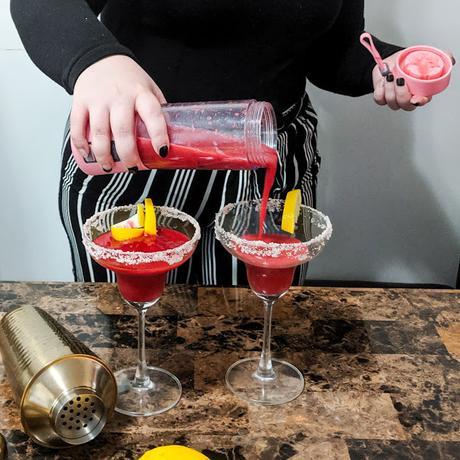 #Vindredi: Recette de Margarita à la framboise sans alcool avec Blendiz