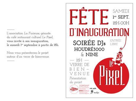 Inauguration officielle du café-resto Le Pixel le 1er ...