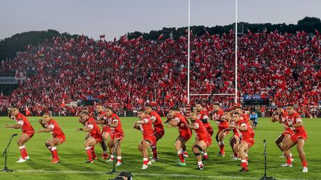 Les Mate Ma'a, l'équipe nationale Tongienne de Rugby à XIII