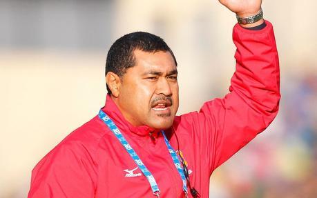 L'ancien Wallaby Toutai Kefu est le sélectionneur des Tonga depuis 2017