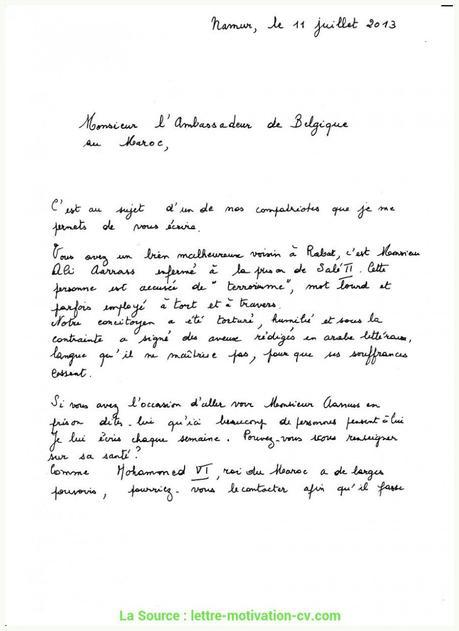 Excellent Lettre De Demande De Rendez Vous Avec L ...