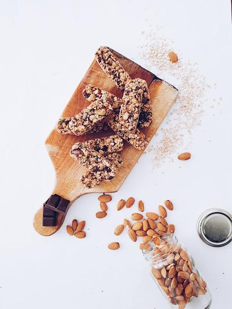 [food] des barres granola pour le petit déjeuner