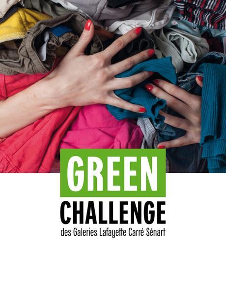 Bon Plan : green challenge et ateliers Upcycling gratuits aux Galeries Lafayette Carré Sénart