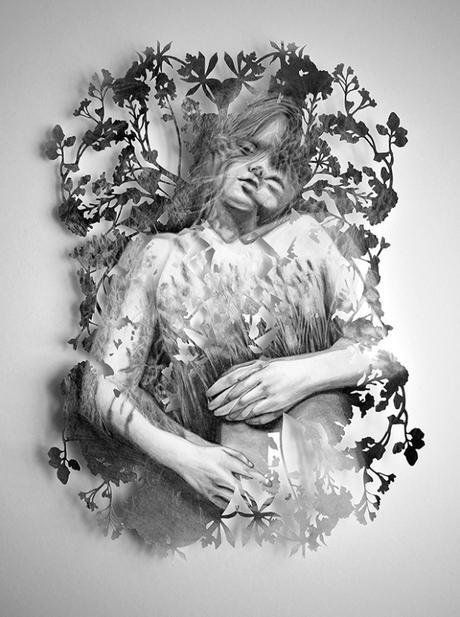 Le superbe travail d'illustration et de découpe de Christine Kim