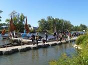 Festival Loire d'Orléans jours fêtes pour plus gros rassemblement bateaux fluviaux d'Europe