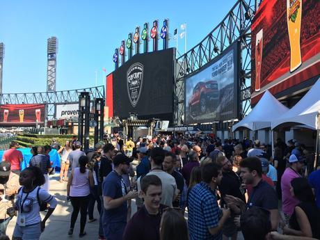 festival de bière artisanale chisox foule