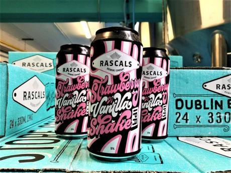 Rascals Brewing Co - Shake à la fraise et à la vanille