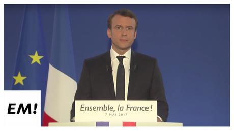 Déclaration officielle d'Emmanuel Macron