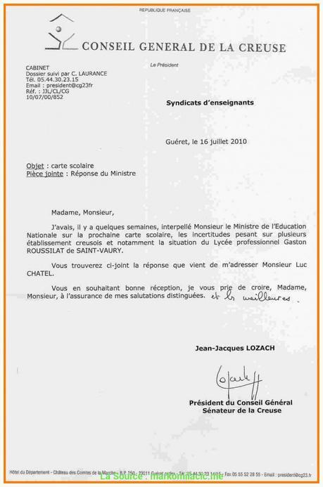 Idéal Exemple De Lettre De Demission Scolaire Exemple De ...