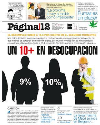 Un taux de chômage record même en Argentine [Actu]