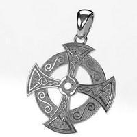 pendentif croix celtique en or