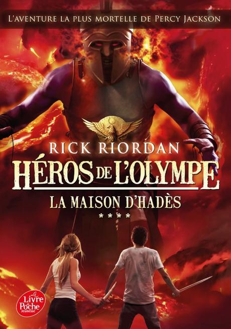Héros de l'Olympe, Tome 4 :  La maison d'Hadès – Rick Riordan