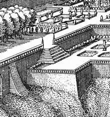 Voyage en Allemagne – Heidelberg, L'Hortus Palatinus