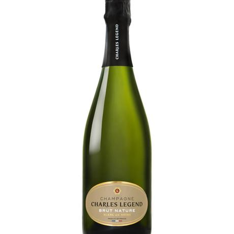 Champagne brut nature Charles Legend