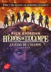 Héros de l'Olympe, Tome 5 :  Le sang de l'Olympe – Rick Riordan