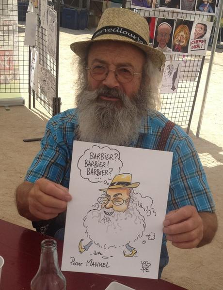 Festival de la caricature à Vinezac en Ardèche