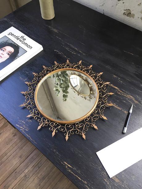 miroir soleil chaty vallauris modèle petit soleil - blog déco - clem around the corner