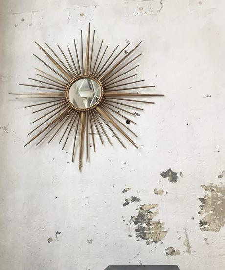 miroir soleil chaty vallauris mur vintage - blog déco - clem around the corner