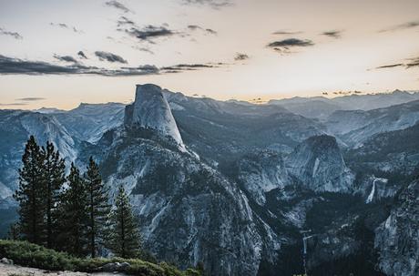 Un lever de soleil à Yosemite