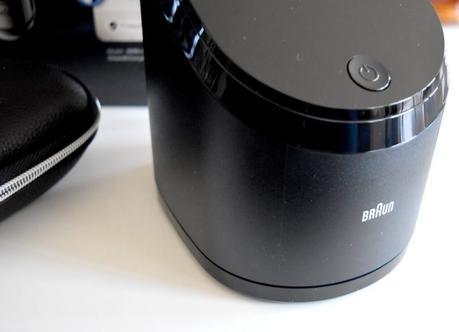Rasoir Braun 9296CC, rasoir électrique haut de gamme pour peaux sensibles