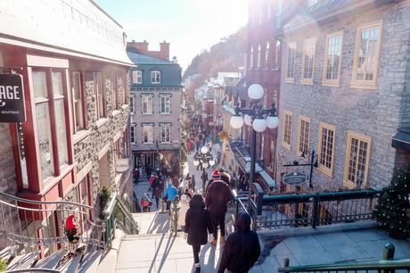 rue Petit Champlain Noël