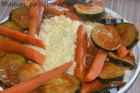 Couscous végétarien express